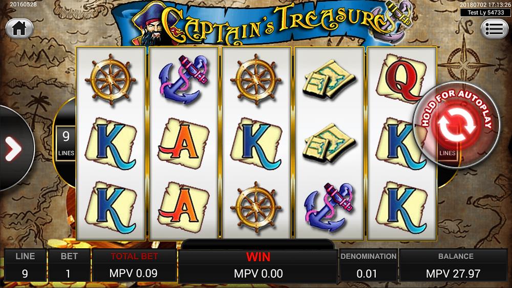 Captain Treasure Xe88