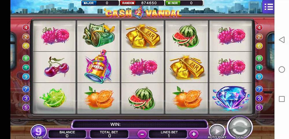 Cash Vandal Mega888