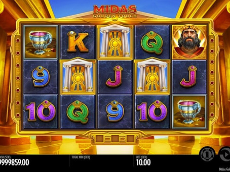 Tips Main Midas Golden Touch Slot Online Slot Mega888