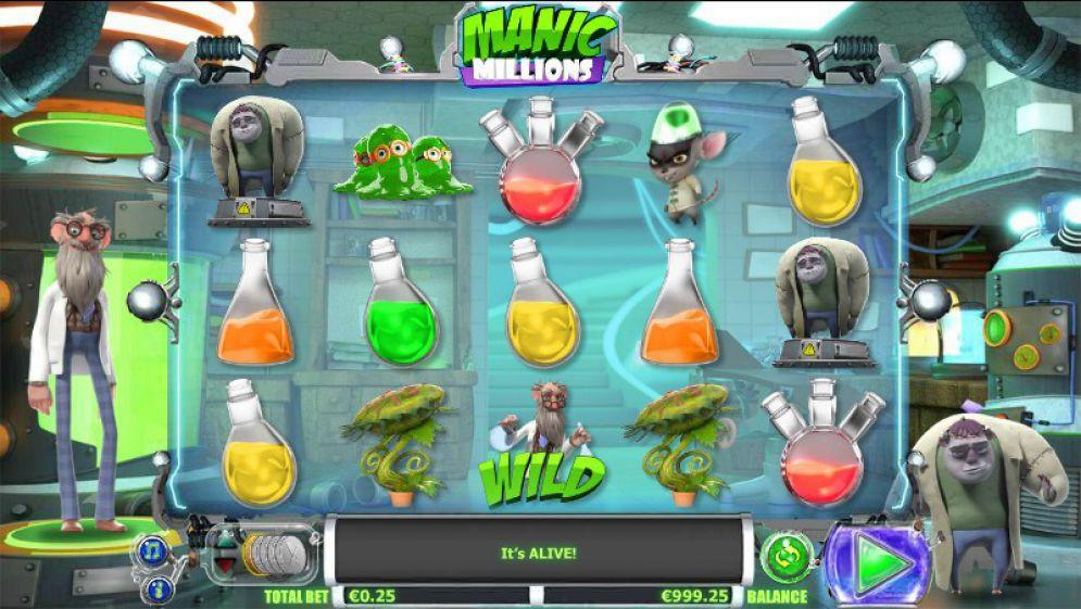 Manic Million Mega888
