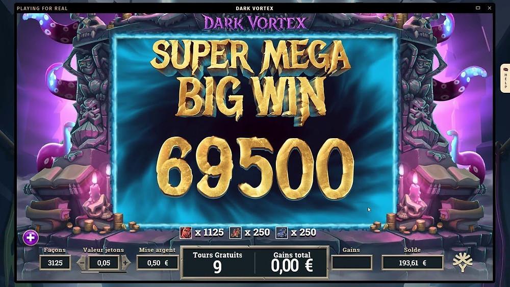 Dark Vortex Mega888