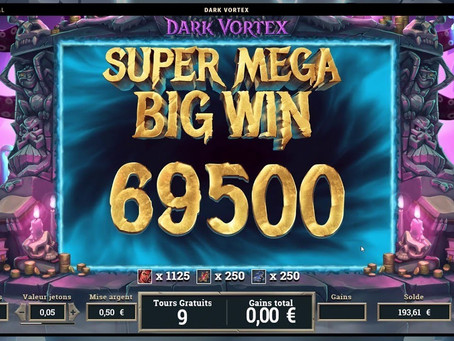 Tips Main Dark Vortex Mega888