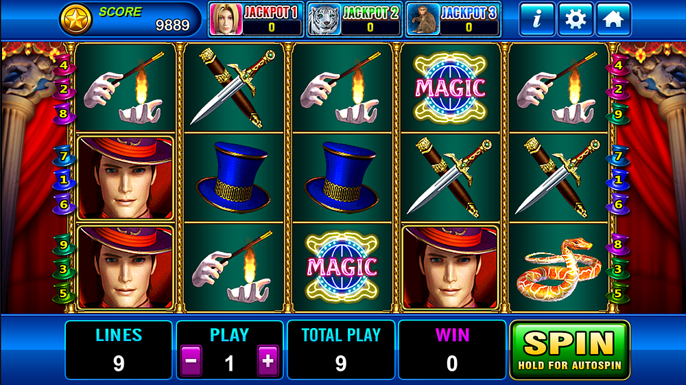 Magician 918Kiss/SCR888 - Tips Menang
