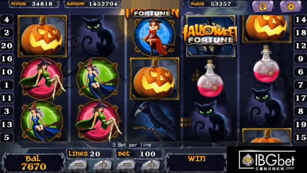 Halloween Mega888