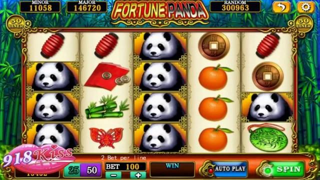 918Kiss Fortune Panda