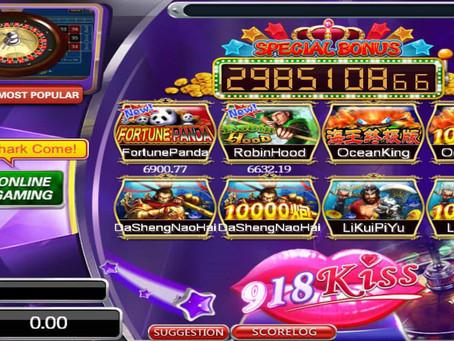 5 Online Slot Games Terbaik di 918Kiss/SCR888