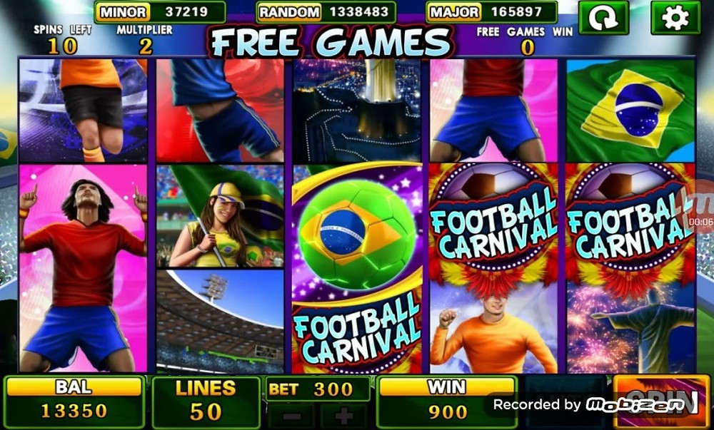 Football Carnival 918Kiss