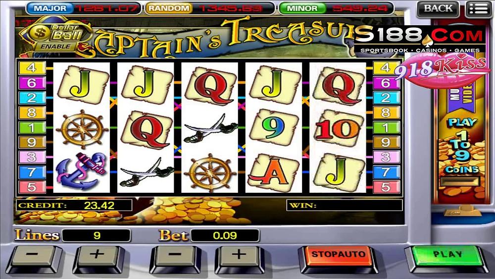 918kiss/SCR888 Captain Treasure