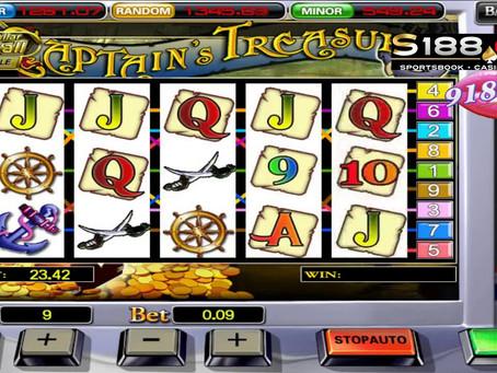 Cara Main Captain Treasure 918Kiss/SCR88
