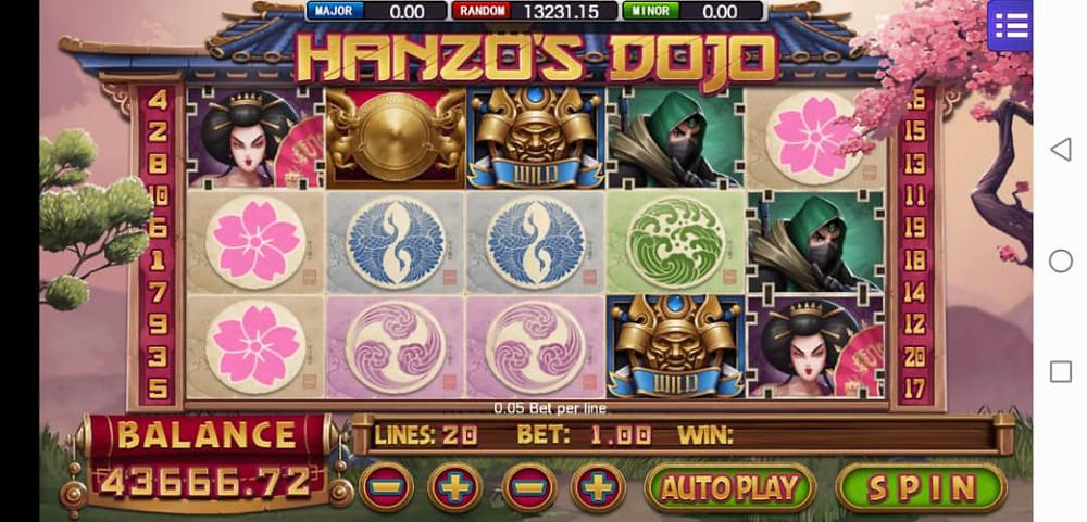 Hanzo Dojo Mega888