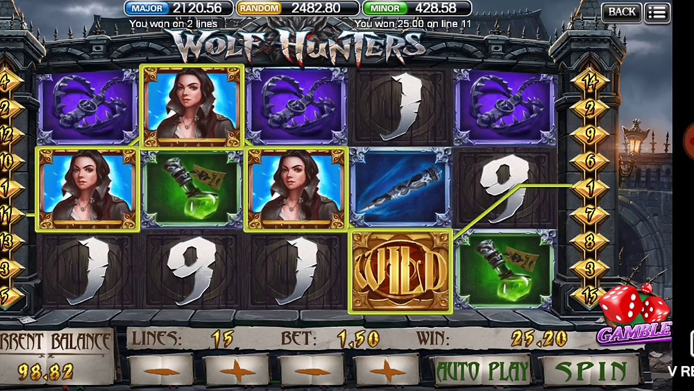 Wolf Hunter 918Kiss/SCR888