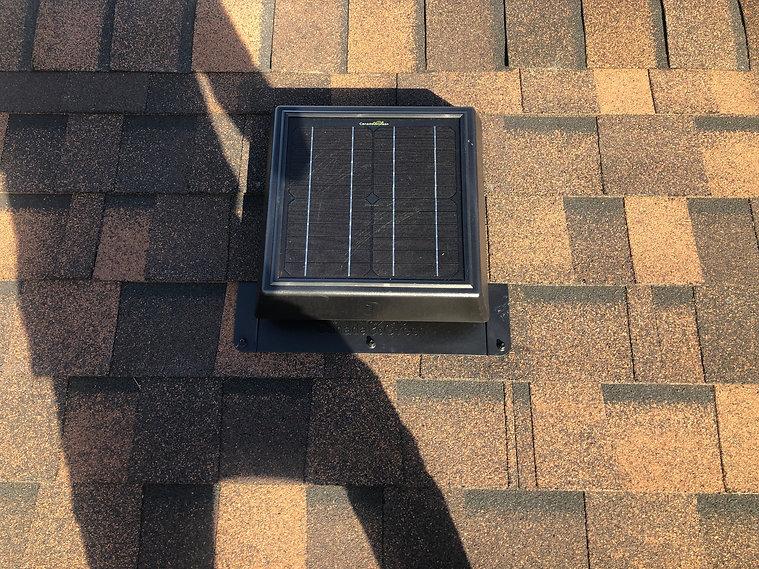 go green solar vent