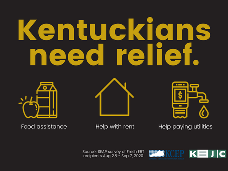 New Survey Shows Extreme Hardship Among Kentuckians as President Halts Talks on COVID-19 Aid Bill