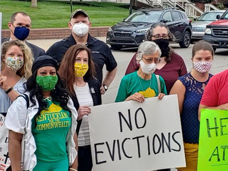 An open letter to Governor Andy Beshear: Stop evictions now with a statewide ban.