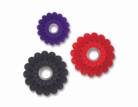 3D Printed Ruffle Brooches
