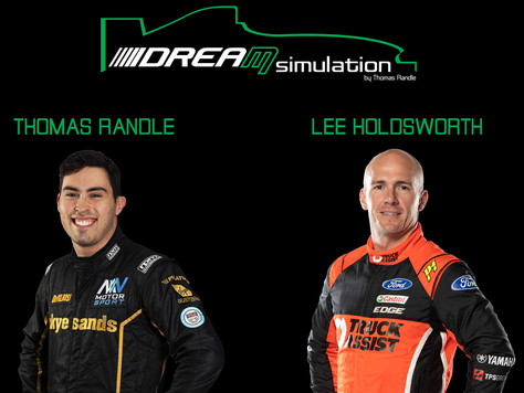 RANDLE LAUNCHES PROFESSIONAL RACING SIMULATOR BUSINESS