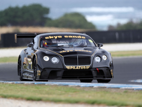 RANDLE TO RACE GT3 BENTLEY AT THE BEND
