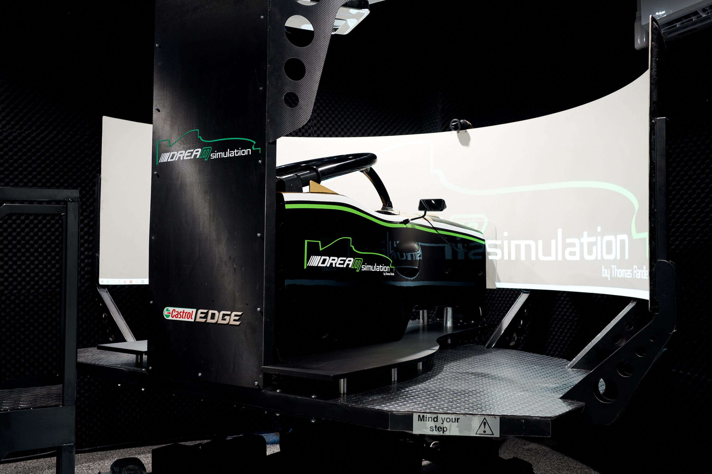 Open Wheel Motion Simulator Experience
