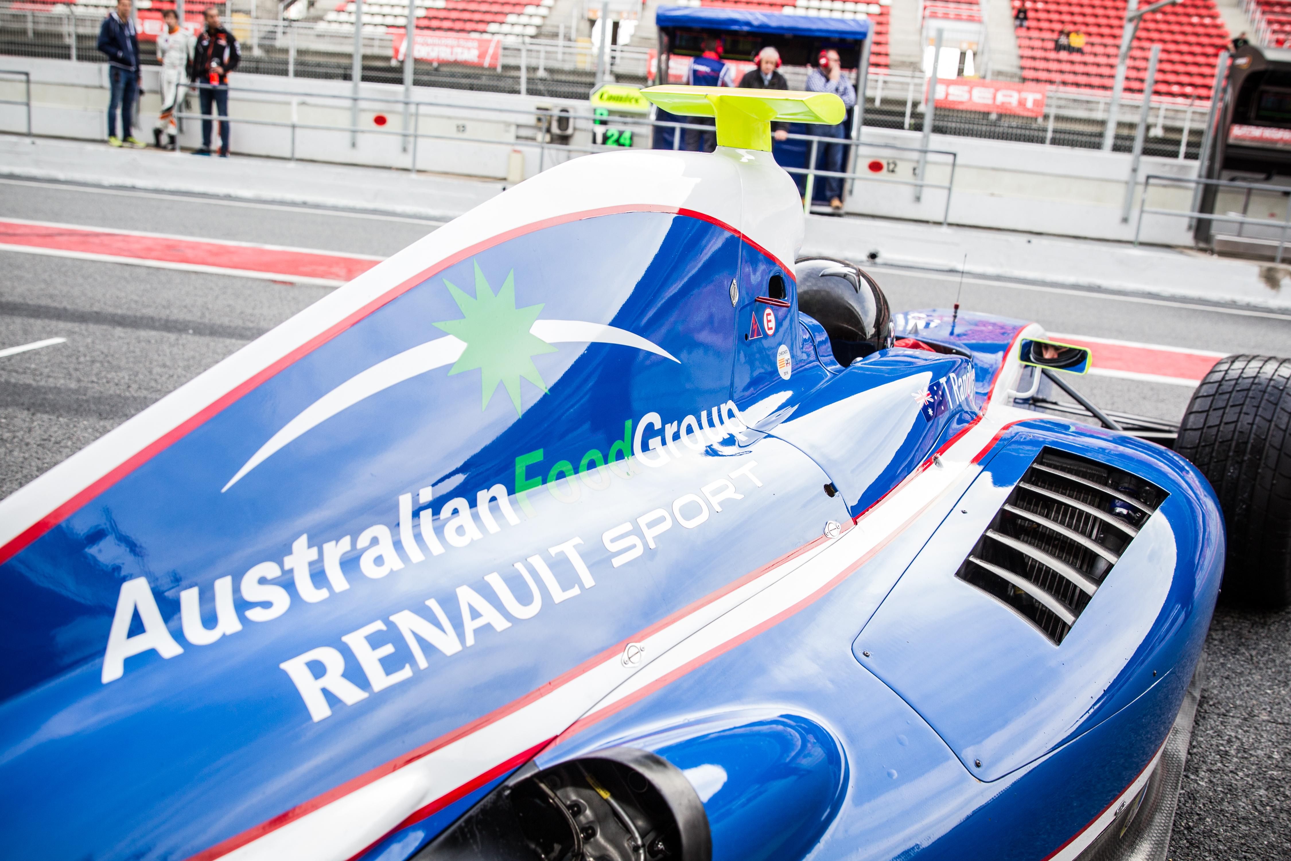 Thomas Randle - Formula V8 3.5