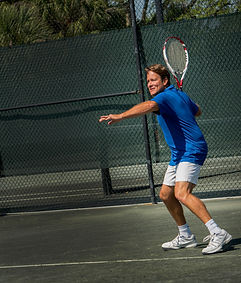 Tennis on 10 all season, year round Har-Tru tennis courts, an expanded tennis shop stocked with the latest apparel and equipment, make membership in Jonathan's Landing Golf Club an easy choice for the avid tennis player.
