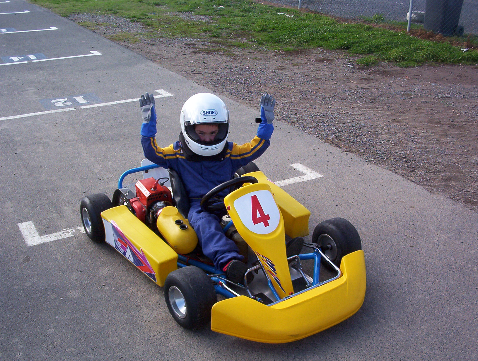 First time in a Go Kart