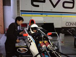 First time in a Formula Ford