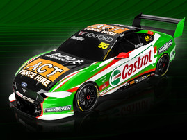 TICKFORD WILD CARD TO FEATURE RANDLE, CASTROL RACING MUSTANG AT THREE EVENTS