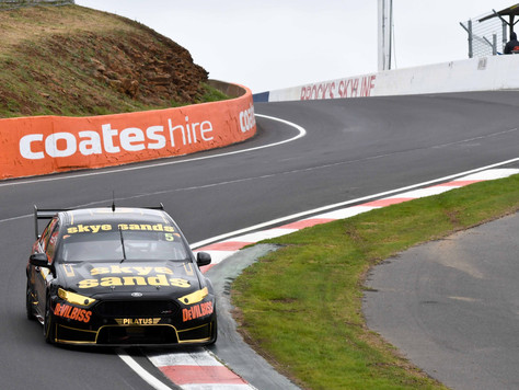 EIGHTH PLACE BATHURST FINISH AFTER PENALTY FOR RANDLE