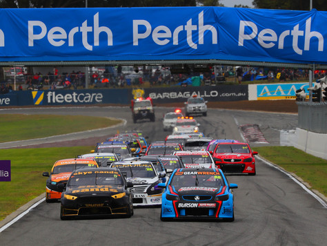 MAIDEN POLE POSITION AND ROUND PODIUM FOR BARBAGALLO DEBUTANT RANDLE IN SUPER2