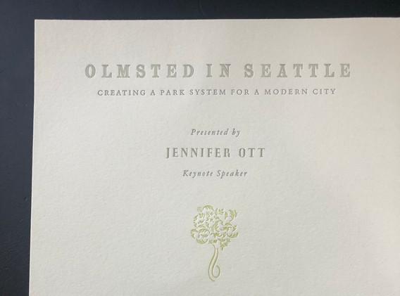 Olmstead in Seattle (2020)