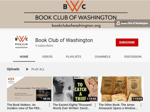 The Silver Lining: New BCW YouTube Channel