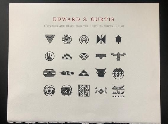 Edward Curtis keepsake (2018) Side 1