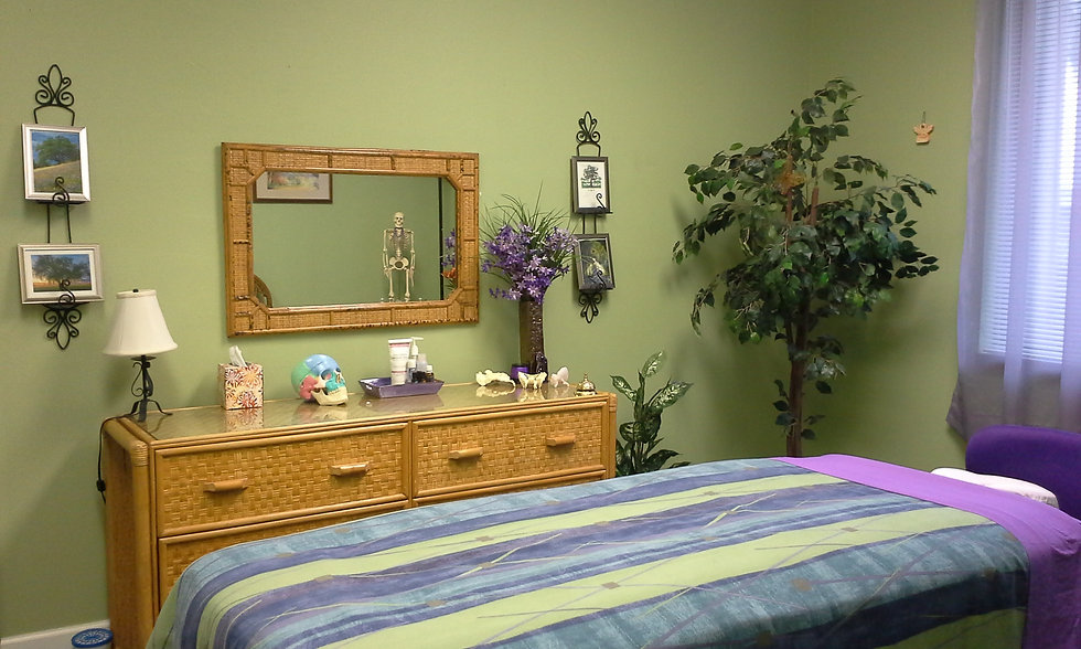 Longwell Massage Therapy massage room
