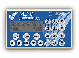 MEND technology frequency specific microcurrent device