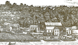 Barker Farm and Mill 1874