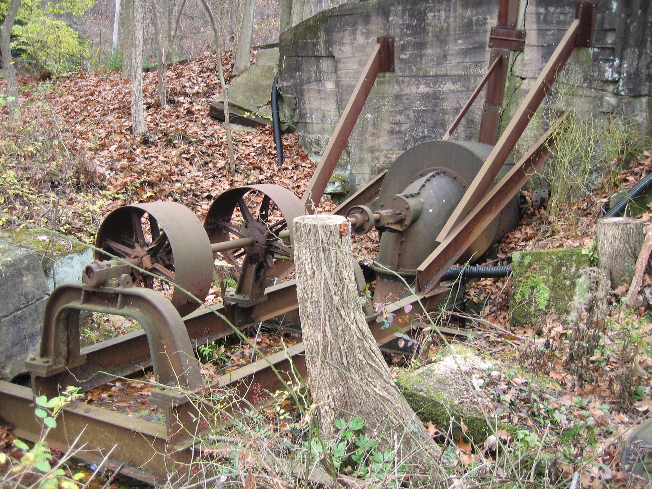 Hopkins Lumber Mill Turbine