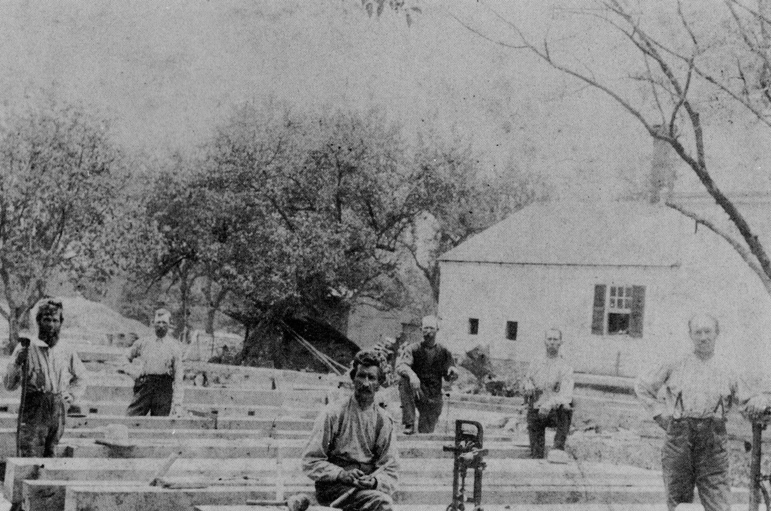 Ira Hershey Barn Raising