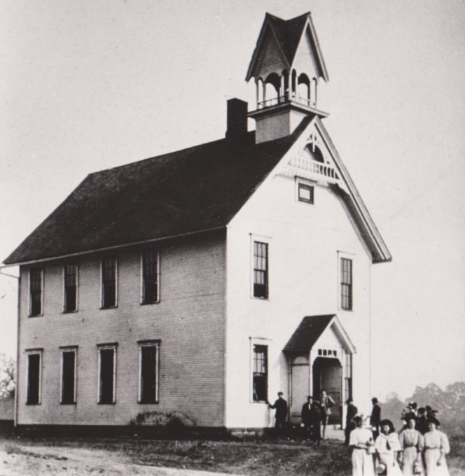BHS Temple on the Hill 1900