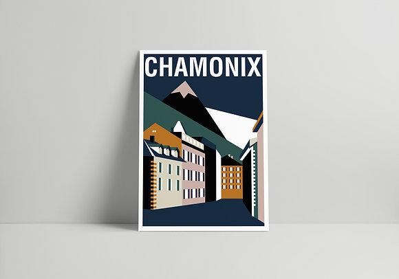CARTE 01 CHAMONIX