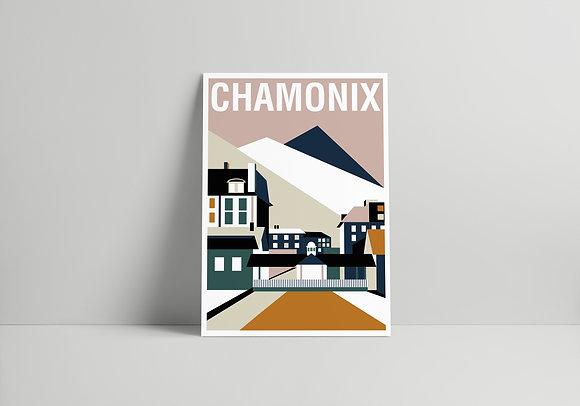 CARTE 02 CHAMONIX