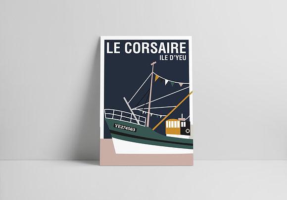 CARTE LE CORSAIRE