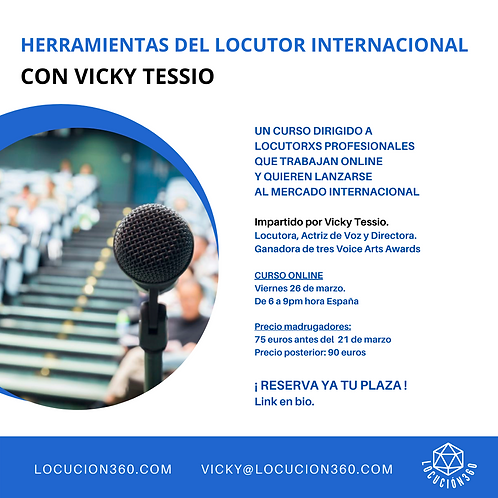 CURSO Herramientas Del Locutor Internacional