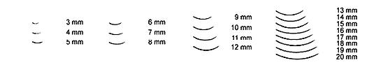 eyelash extension length