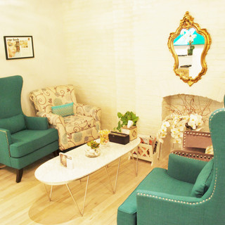 We offer a cozy lounge space to relax in luxury
