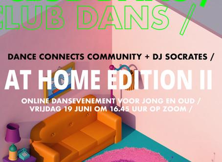 CLUB DANS STAYS AT HOME - NOG EVEN DAN