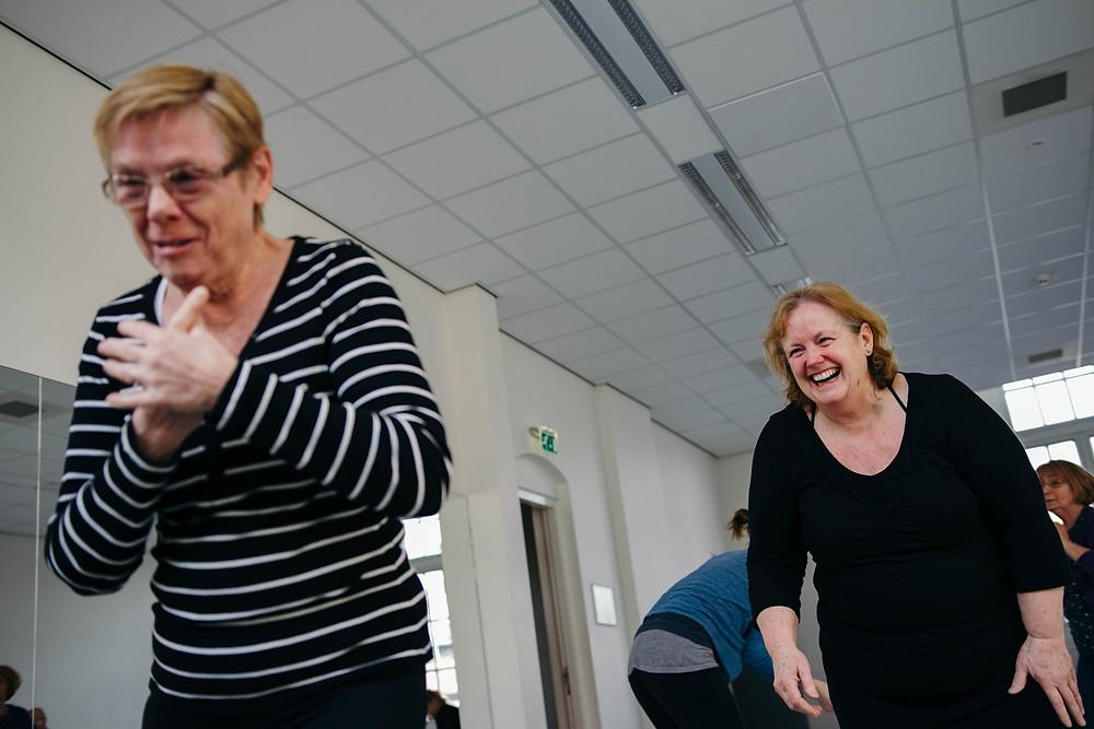 moderne dans voor iedereen van 60 tot 100 jaar