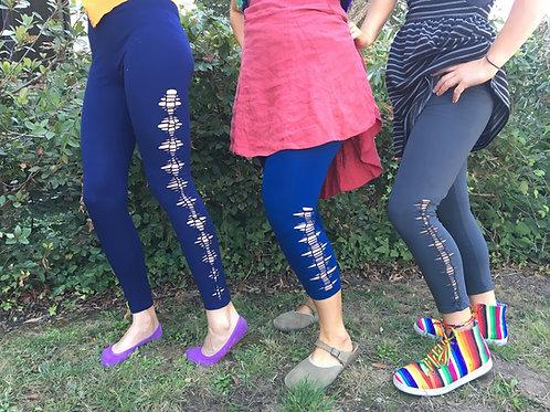 Cut-out Leggings