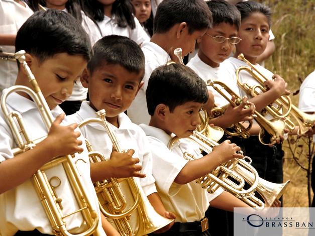Brass Band el Ecuador