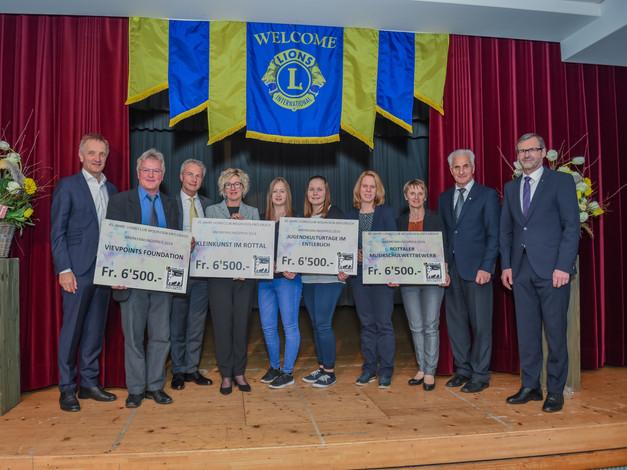 Anerkennungspreis        Lions Club