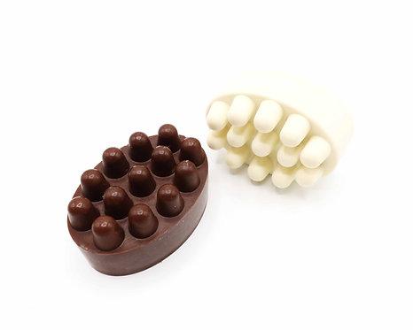 Satsuma Shea Butter Massage Bar Soap